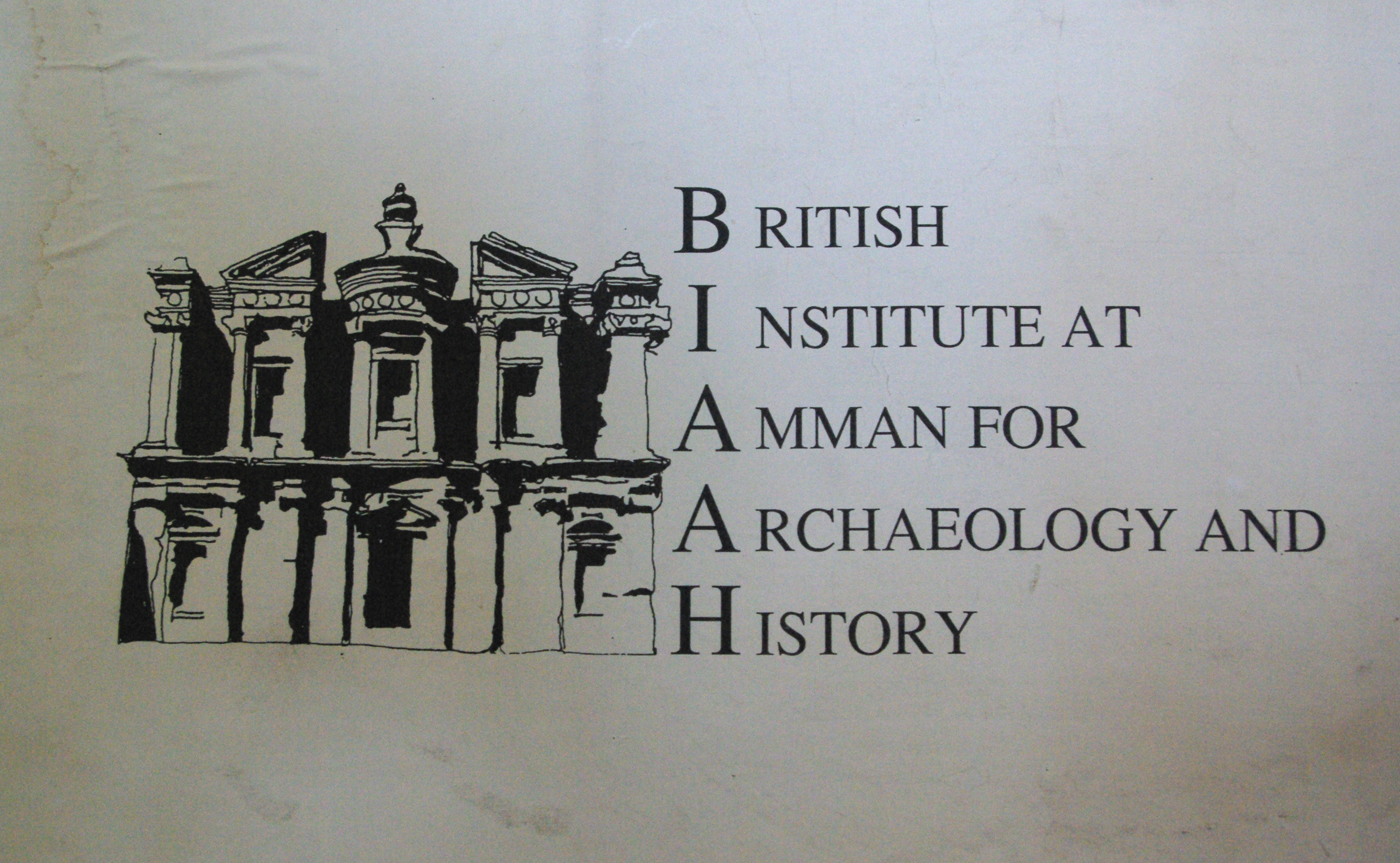 Christine Elias and the British Institute Amman Collections