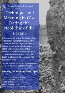 Technique and meaning in 14C- Dating the Neolithic of the Levant (1)